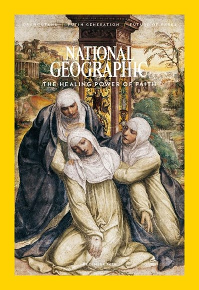 National Geographic Cover - 12/1/2016
