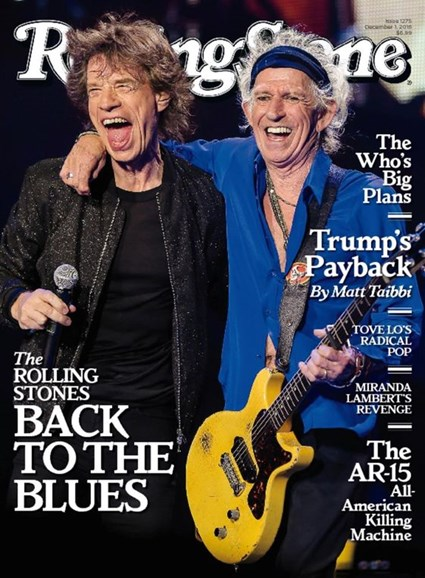 Rolling Stone Cover - 12/1/2016