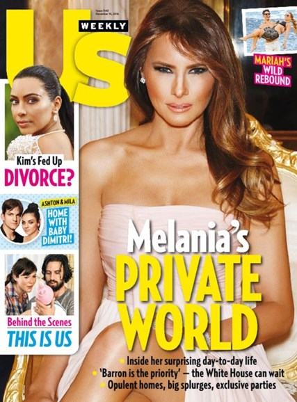 Us Weekly Cover - 12/19/2016