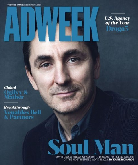 Adweek Cover - 12/5/2016