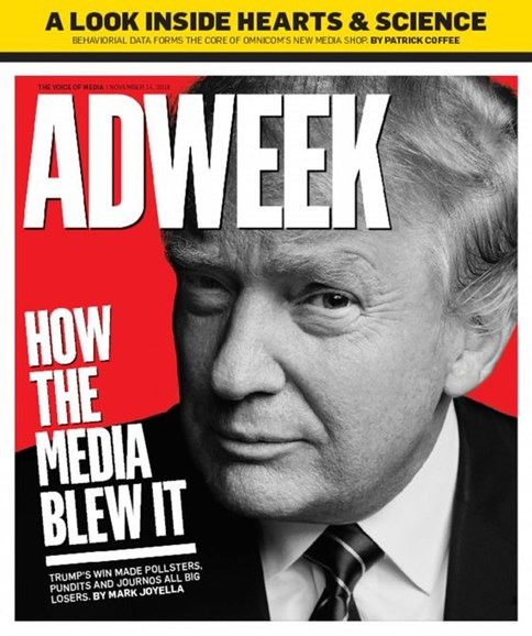 Adweek Cover - 11/14/2016