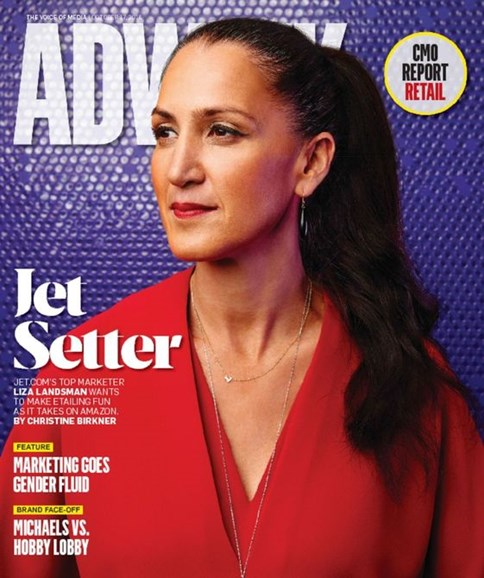 Adweek Cover - 10/17/2016