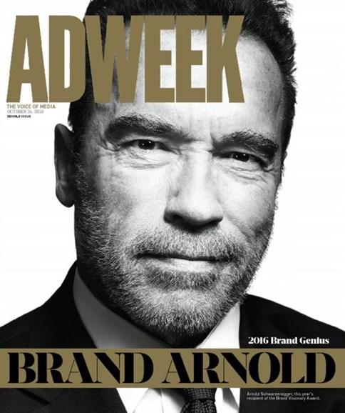 Adweek Cover - 10/24/2016