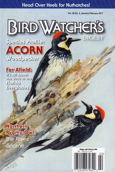 Bird Watcher's Digest Cover - 1/1/2017