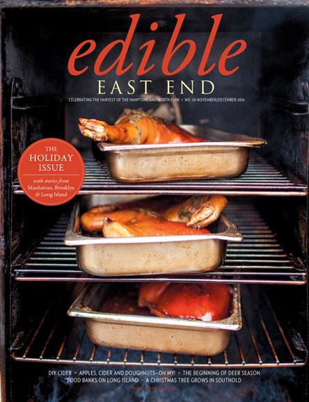Edible East End Cover - 11/1/2016