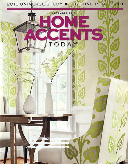 Home Accents Today Cover - 12/1/2016