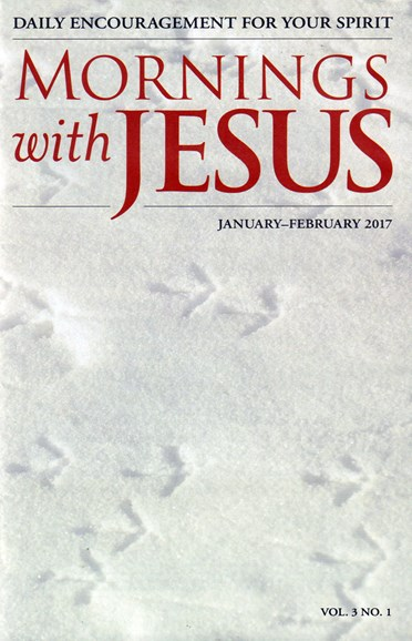 Mornings with Jesus Cover - 1/1/2017