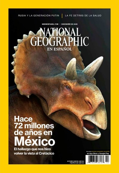 National Geographic En Español Cover - 12/1/2016