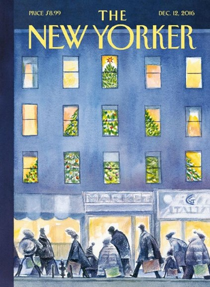 The New Yorker Cover - 12/12/2016