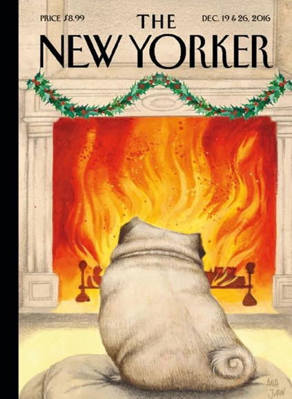 The New Yorker Cover - 12/19/2016