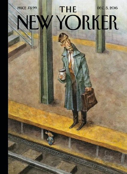 The New Yorker Cover - 12/5/2016