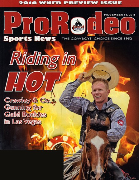 Pro Rodeo Sports News Cover - 11/18/2016