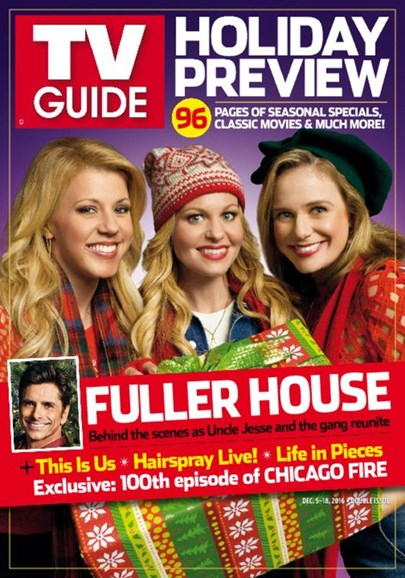 TV Guide Cover - 12/5/2016