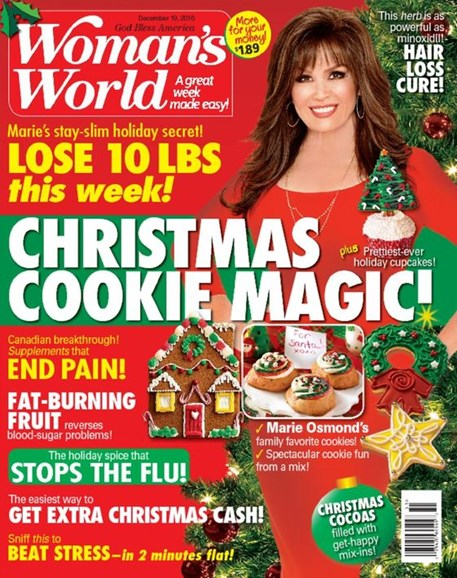 Woman's World Cover - 12/19/2016