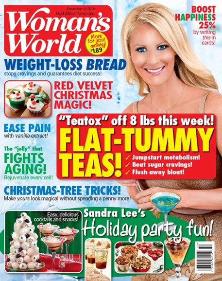 Woman's World Cover - 12/12/2016