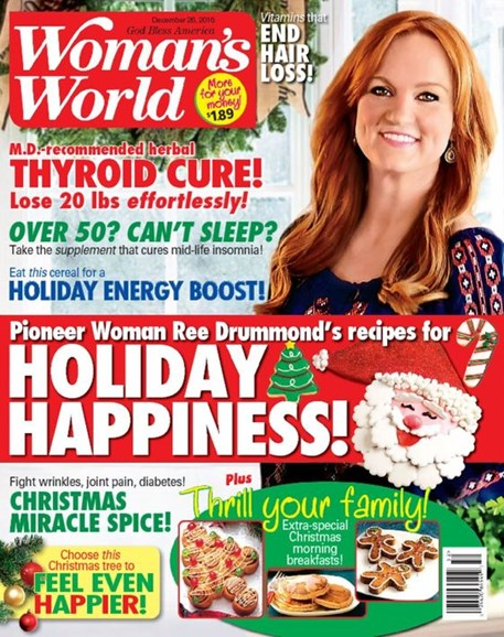 Woman's World Cover - 12/26/2016