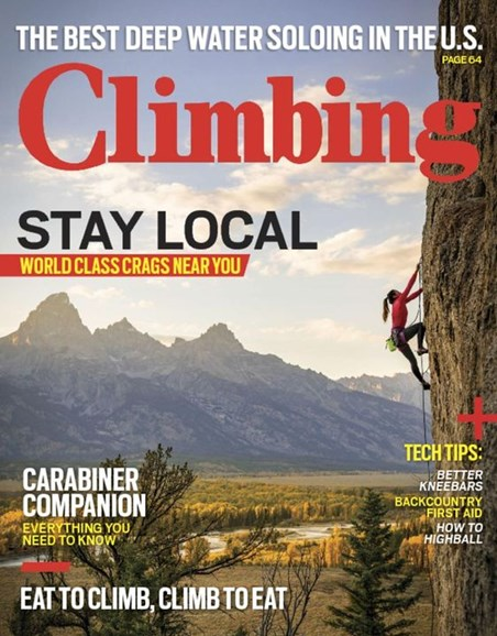 Climbing Magazine Cover - 12/1/2016