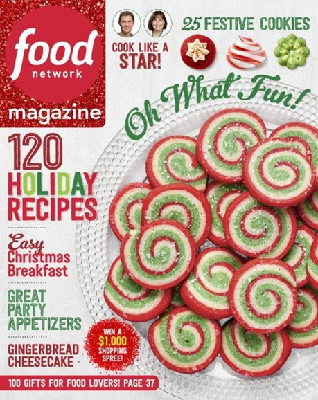 Food Network Cover - 12/1/2016