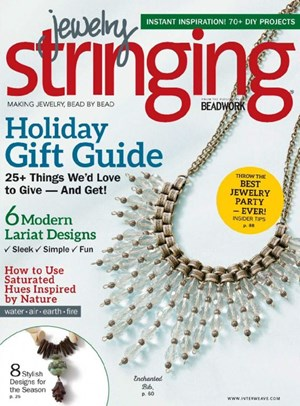 Jewelry Stringing Magazine | 1/1/2017 Cover