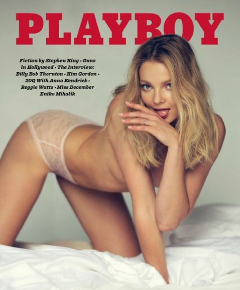 Playboy Cover - 12/1/2016