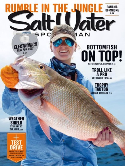 Salt Water Sportsman Cover - 12/1/2016