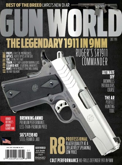 Gun World Cover - 1/1/2017