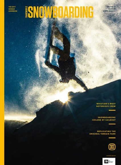 Transworld SNOWboarding Cover - 11/1/2016