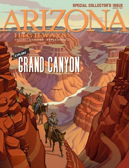 Arizona Highways Cover - 1/1/2017