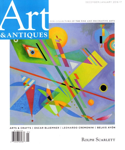 Art & Antiques Cover - 12/1/2016