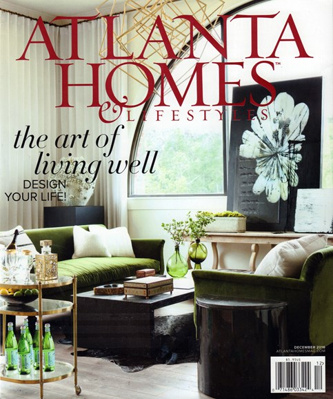 Atlanta Homes & Lifestyles Cover - 12/1/2016