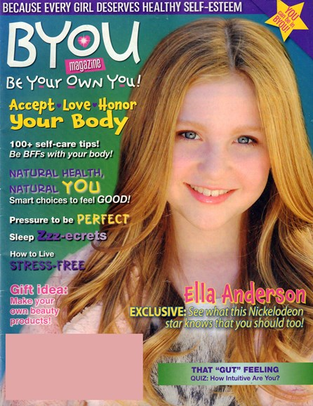BYOU 'Be Your Own You!' Cover - 9/1/2016