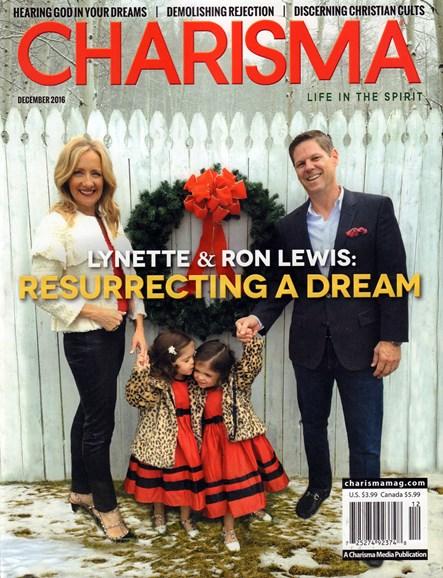 Charisma Cover - 12/1/2016