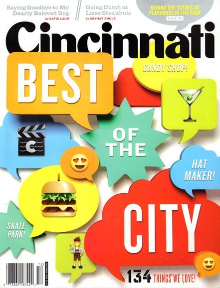 Cincinnati Cover - 12/1/2016