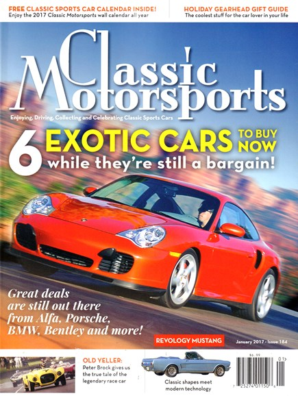 Classic Motorsports Cover - 1/1/2017
