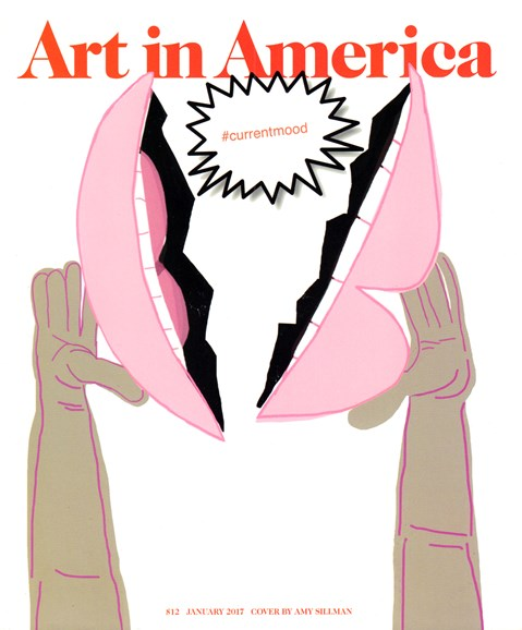 Art In America Cover - 1/1/2017