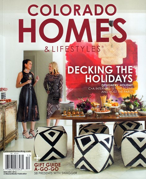 Colorado Homes & Lifestyles Cover - 11/1/2016