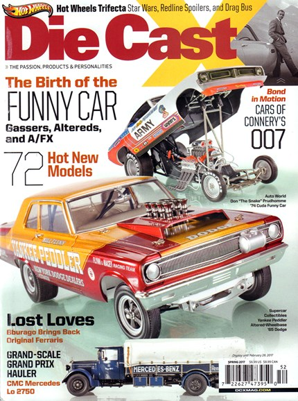 Diecast X Cover - 3/1/2017