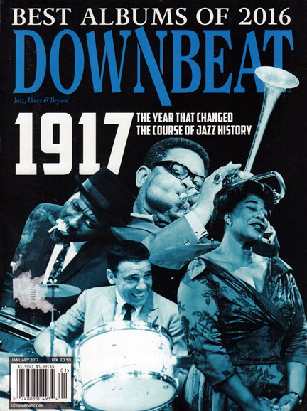 DownBeat Cover - 1/1/2017