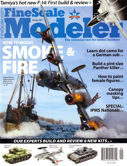 Finescale Modeler Cover - 1/1/2017