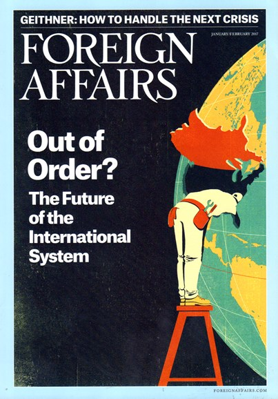 Foreign Affairs Cover - 1/1/2017
