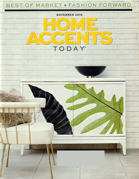 Home Accents Today Cover - 11/1/2016