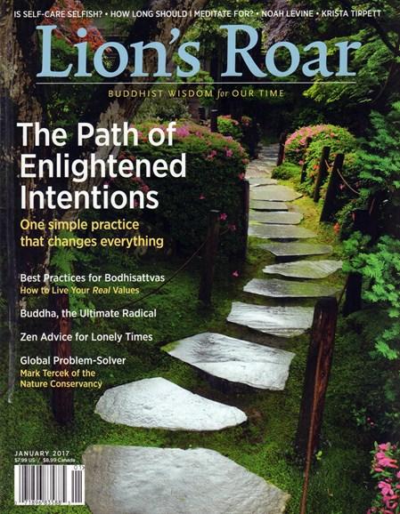 Lion's Roar Cover - 1/1/2017