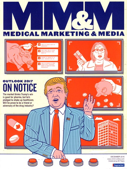 Medical Marketing & Media Cover - 12/1/2016