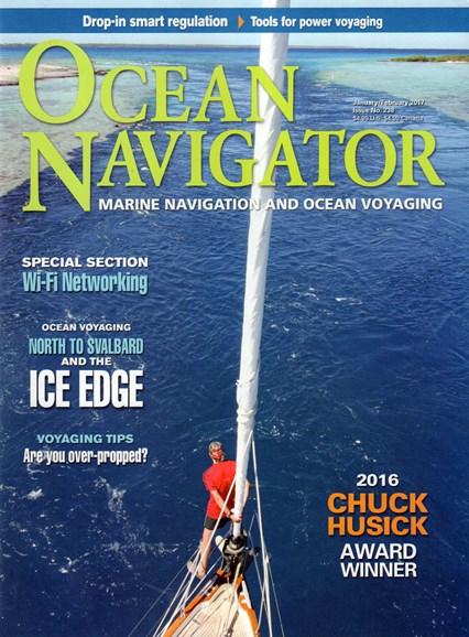 Ocean Navigator Cover - 1/1/2017