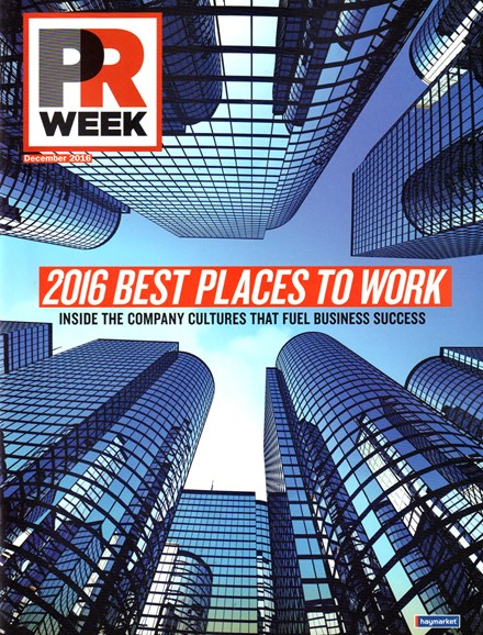 PRWeek Cover - 12/1/2016