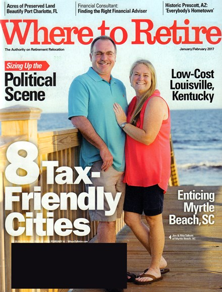 Where To Retire Cover - 1/1/2017