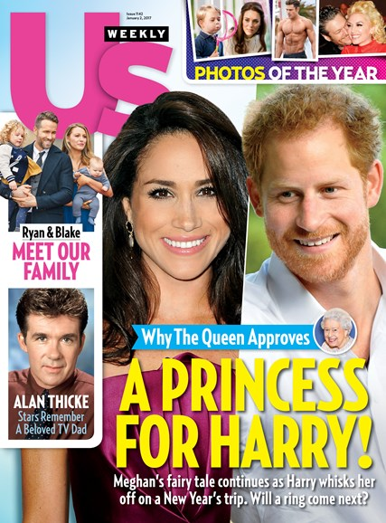 Us Weekly Cover - 1/2/2017