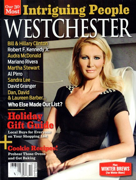 Westchester Magazine Cover - 12/1/2016