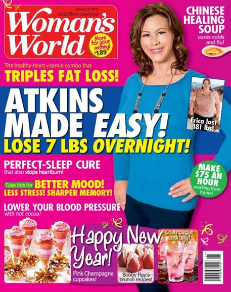 Woman's World Cover - 1/2/2017