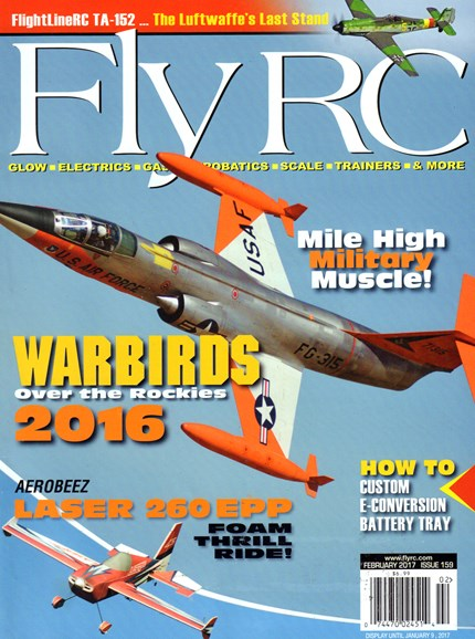 Fly RC Cover - 2/1/2017